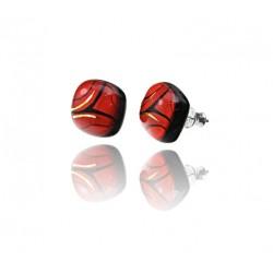 Kolczyki wkrętki z Czerwonej kolekcji