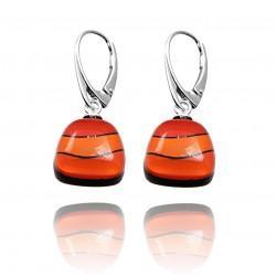 Kolczyki trapez z Pomarańczowej kolekcji 15