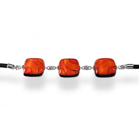 Bransoleta z Pomarańczowej kolekcji