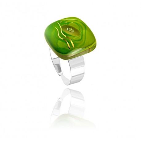 Pierścionek z kolekcji Laguna Zielona 20