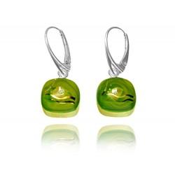 Kolczyki z kolekcji Laguna Zielona 15