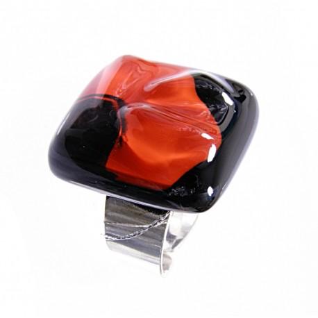 Pierścionek z kolekcji Maki Czerwone 25