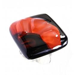 Pierścionek karo z kolekcji Maki Czerwone 30