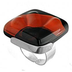 Pierścionek w oprawie z kolekcji Maki Czerwone 25
