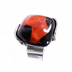 Pierścionek w oprawie z kolekcji Maki Czerwone 20