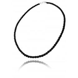 Sznur czarny 4mm