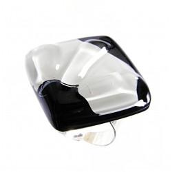 Pierścionek karo z kolekcji Maki Białe 30