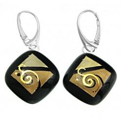 Kolczyki karo z kolekcji Klimt 20