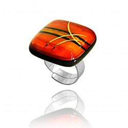 Pierścionek z kolekcji Tramonto Rosso 25