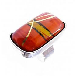 Pierścionek w oprawie z kolekcji Tramonto Rosso 35/20