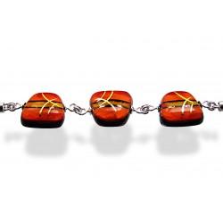 Bransoleta trapez z kolekcji Tramonto Rosso