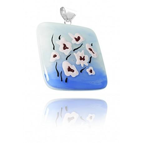Zawieszka z kolekcji Magnolia Niebieska 55