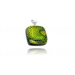 Zawieszka z kolekcji Kobra Zielona 20