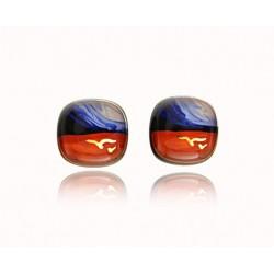 Kolczyki wkrętki z kolekcji Tramonto Azzurro